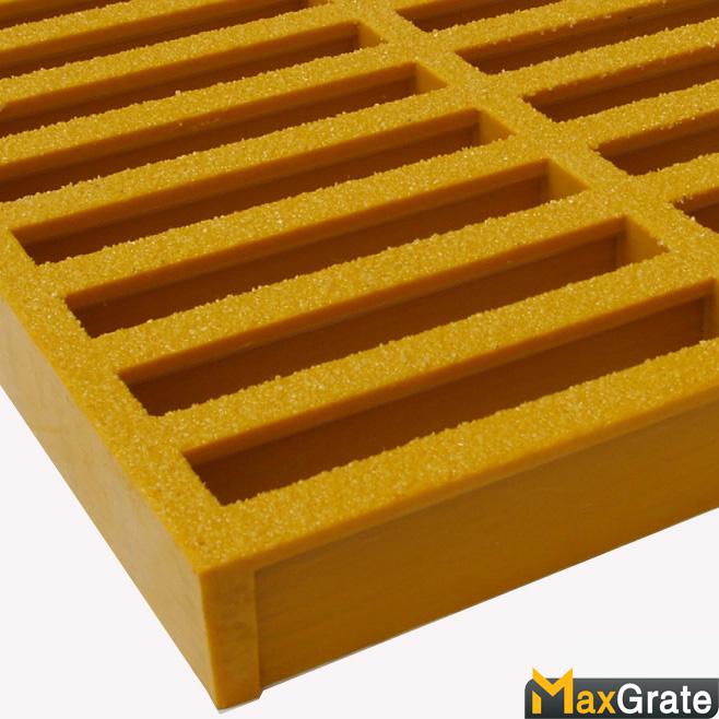 Rejilla rectangular de malla moldeada